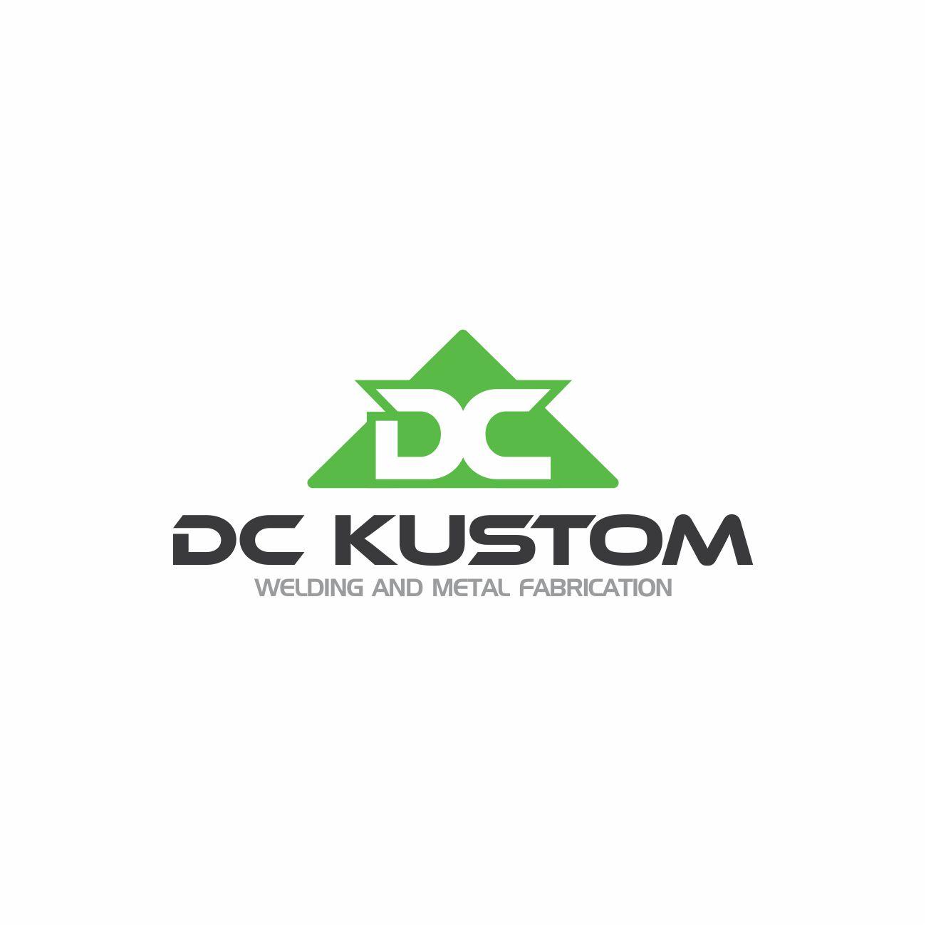 Logo Design by RasYa Muhammad Athaya - Entry No. 168 in the Logo Design Contest Imaginative Logo Design for DC KUSTOM WELDING & METAL FABRICATION.
