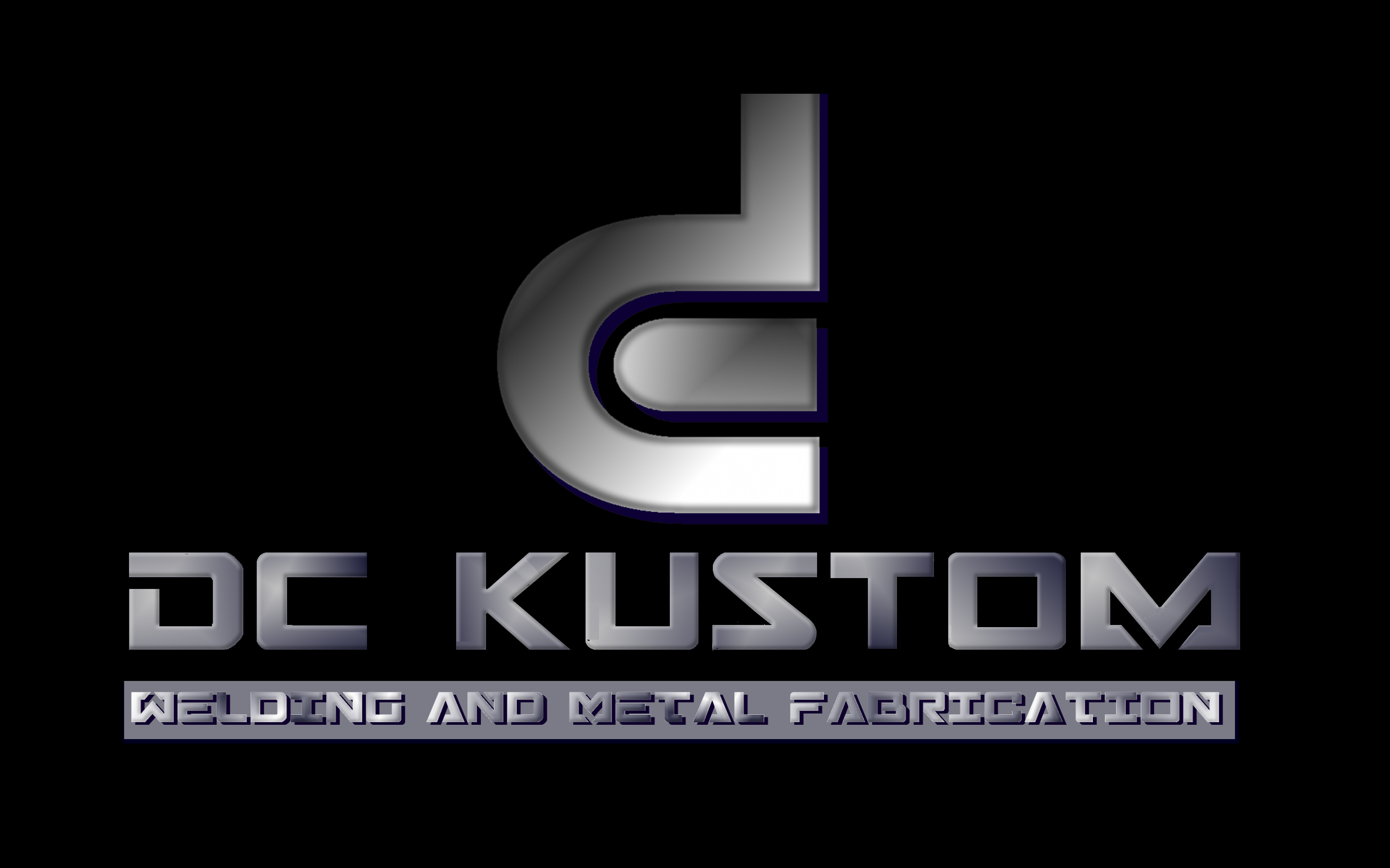 Logo Design by Roberto Bassi - Entry No. 170 in the Logo Design Contest Imaginative Logo Design for DC KUSTOM WELDING & METAL FABRICATION.