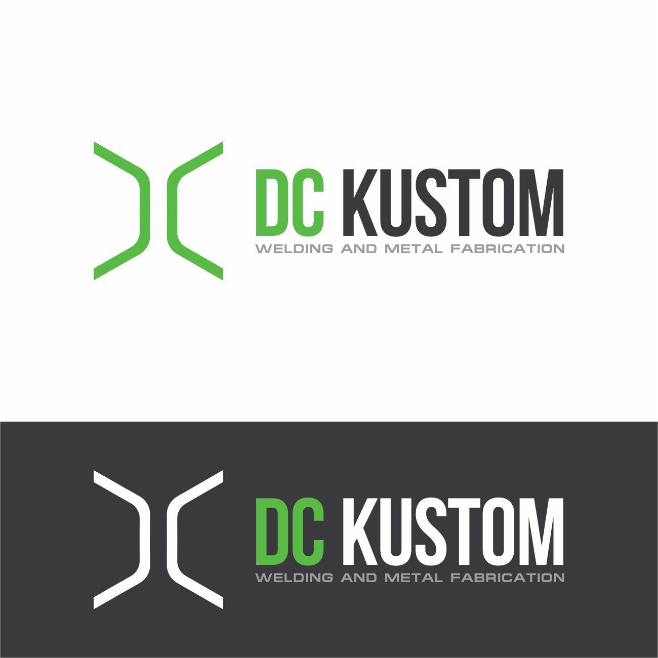 Logo Design by RasYa Muhammad Athaya - Entry No. 171 in the Logo Design Contest Imaginative Logo Design for DC KUSTOM WELDING & METAL FABRICATION.