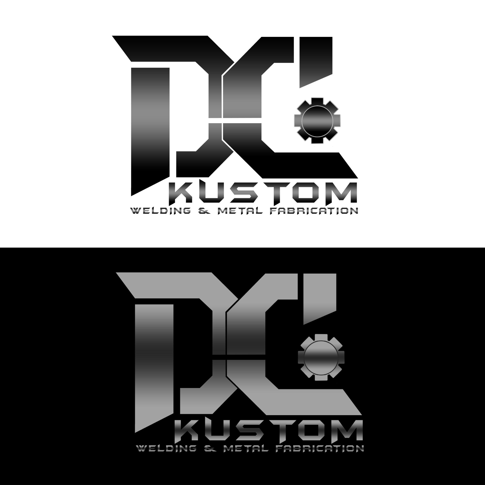 Logo Design by Julboy Salupan - Entry No. 182 in the Logo Design Contest Imaginative Logo Design for DC KUSTOM WELDING & METAL FABRICATION.