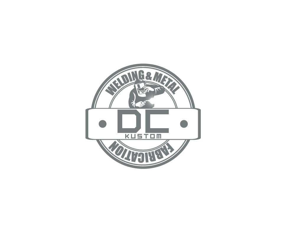 Logo Design by pojas12 - Entry No. 188 in the Logo Design Contest Imaginative Logo Design for DC KUSTOM WELDING & METAL FABRICATION.