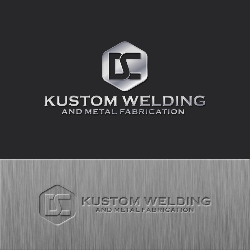 Logo Design by RasYa Muhammad Athaya - Entry No. 193 in the Logo Design Contest Imaginative Logo Design for DC KUSTOM WELDING & METAL FABRICATION.