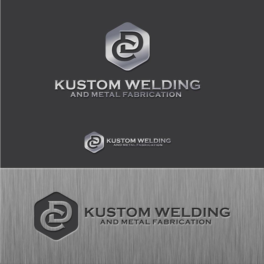 Logo Design by RasYa Muhammad Athaya - Entry No. 195 in the Logo Design Contest Imaginative Logo Design for DC KUSTOM WELDING & METAL FABRICATION.