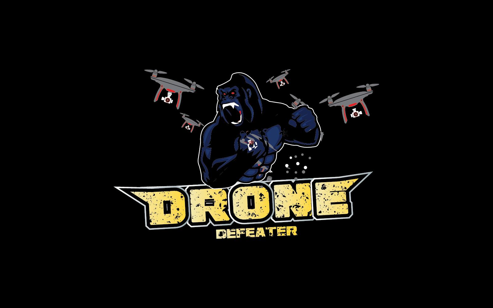 Logo Design by pojas12 - Entry No. 39 in the Logo Design Contest Artistic Logo Design for Drone Defeater.