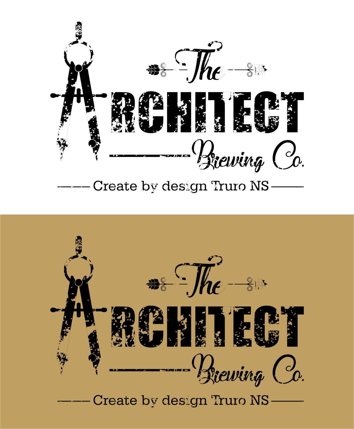 Logo Design by Spider Graphics - Entry No. 119 in the Logo Design Contest Captivating Logo Design for The Architect Brewing Co..