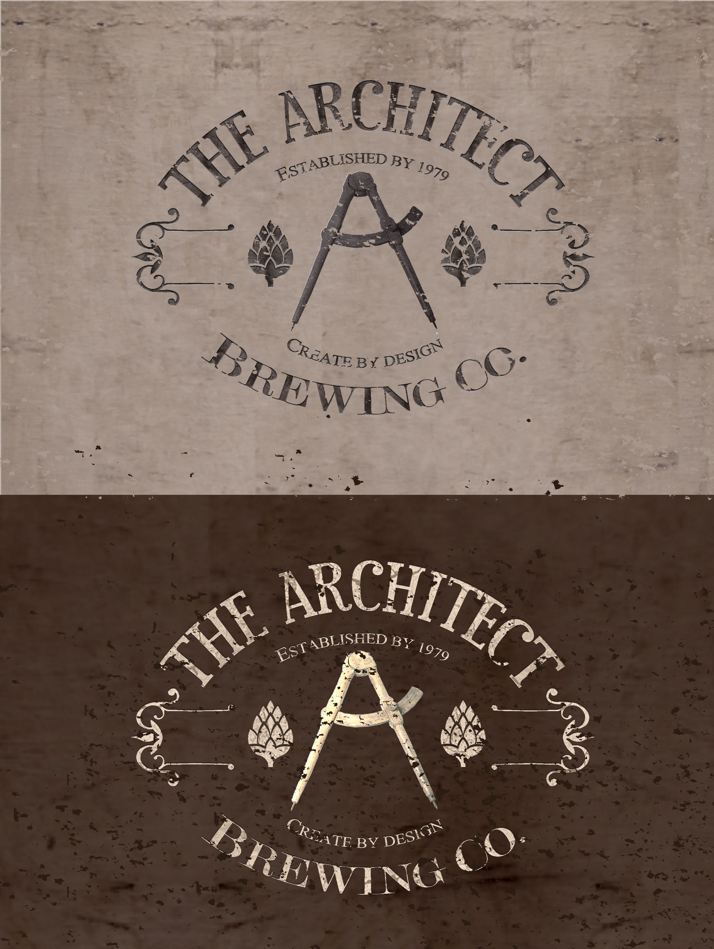 Logo Design by JSDESIGNGROUP - Entry No. 124 in the Logo Design Contest Captivating Logo Design for The Architect Brewing Co..