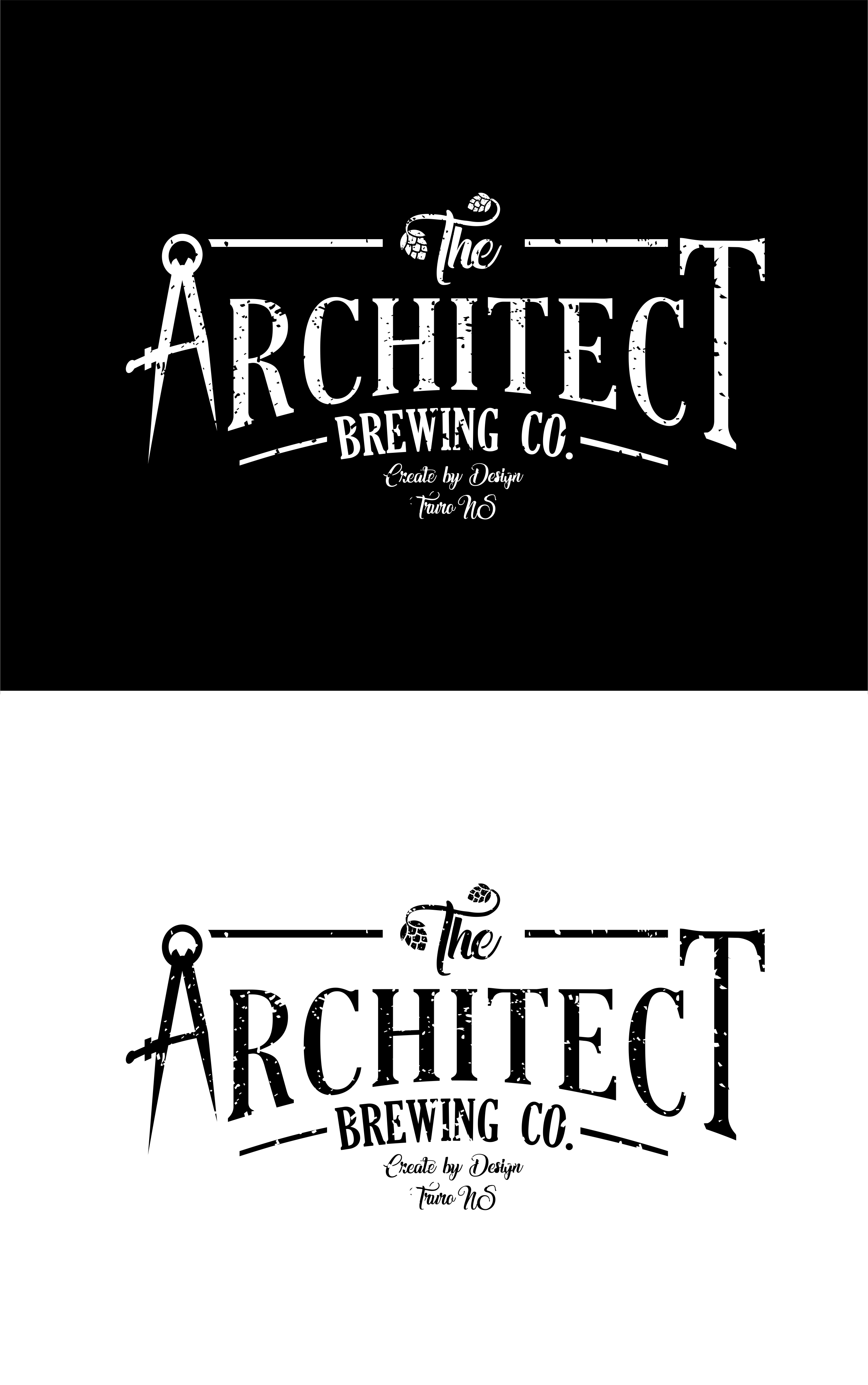 Logo Design by Net Bih - Entry No. 127 in the Logo Design Contest Captivating Logo Design for The Architect Brewing Co..
