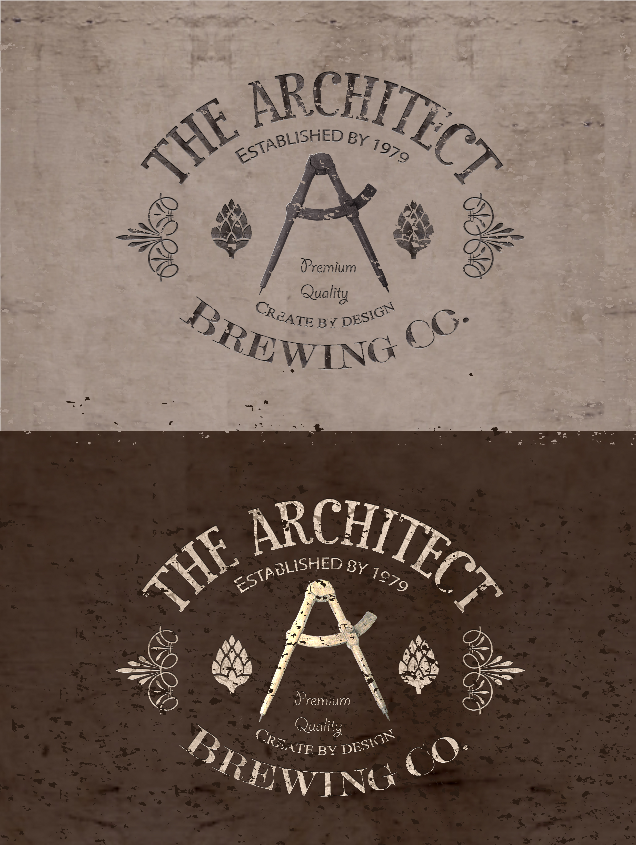 Logo Design by JSDESIGNGROUP - Entry No. 131 in the Logo Design Contest Captivating Logo Design for The Architect Brewing Co..