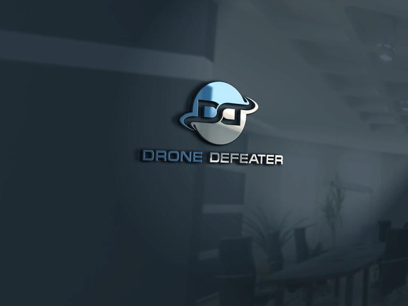 Logo Design by Private User - Entry No. 45 in the Logo Design Contest Artistic Logo Design for Drone Defeater.