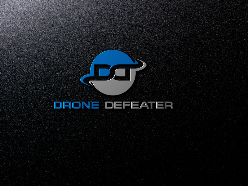Logo Design by Private User - Entry No. 46 in the Logo Design Contest Artistic Logo Design for Drone Defeater.