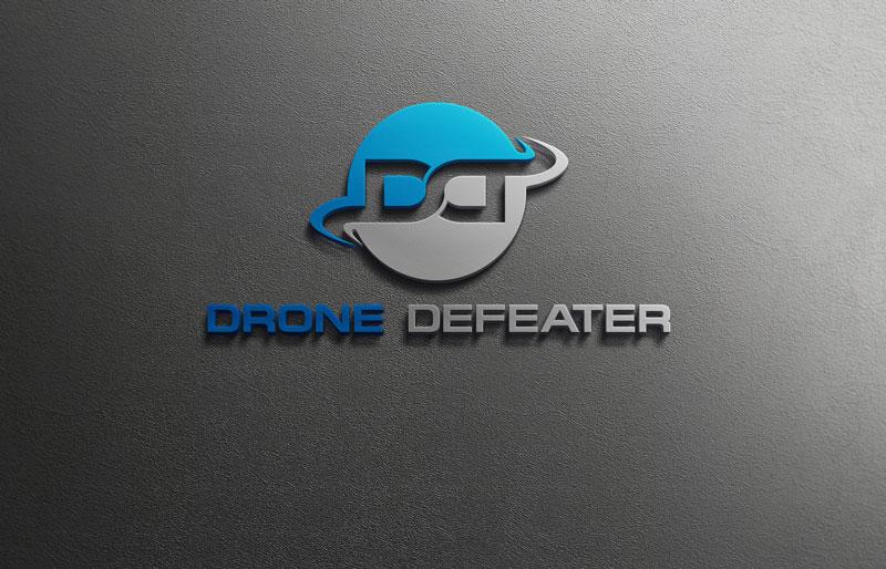 Logo Design by Private User - Entry No. 48 in the Logo Design Contest Artistic Logo Design for Drone Defeater.