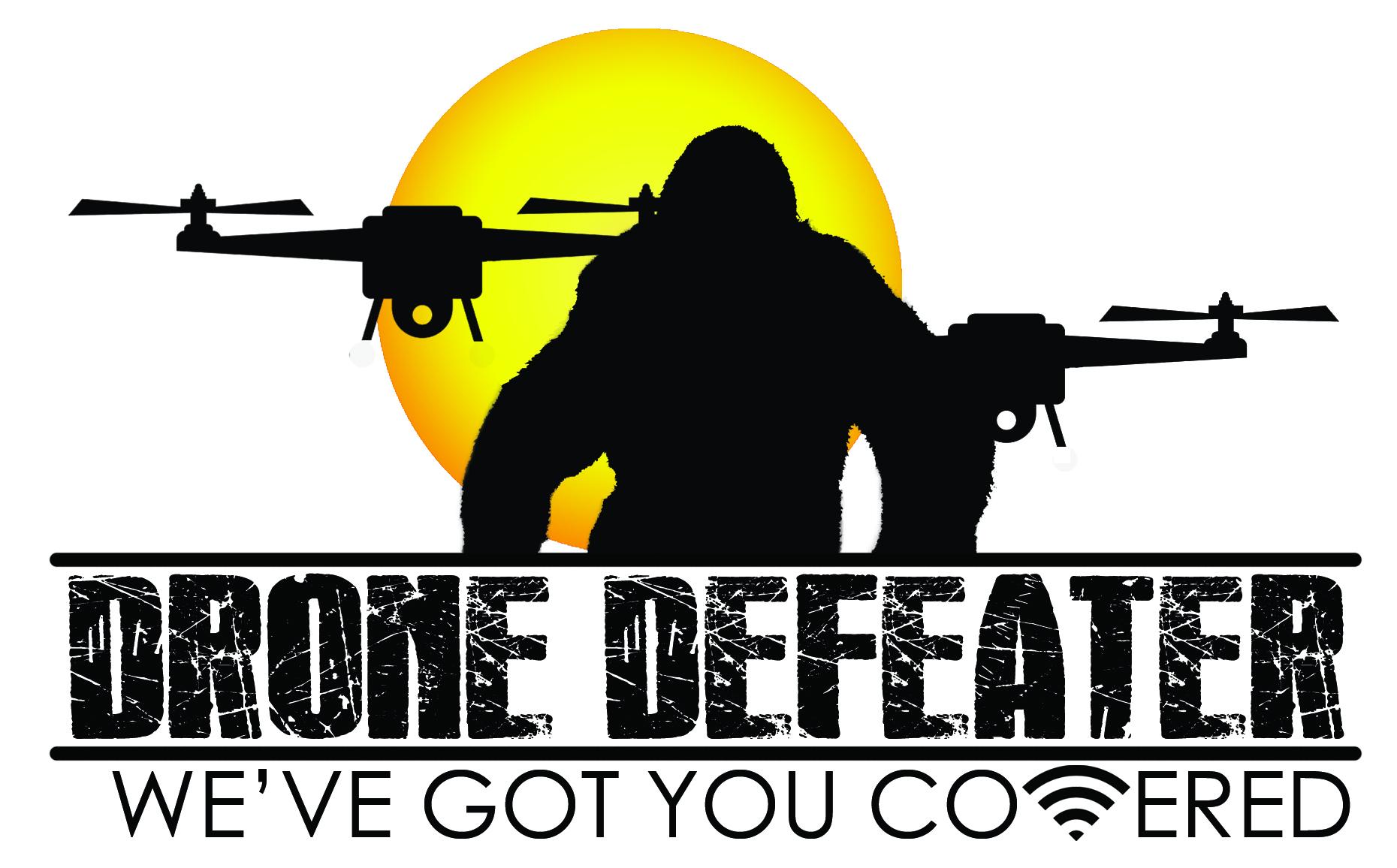 Logo Design by Arqui ACOSTA - Entry No. 54 in the Logo Design Contest Artistic Logo Design for Drone Defeater.