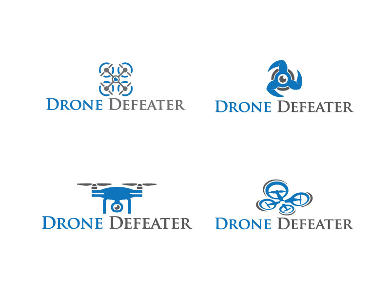 Logo Design by Bahar Hossain - Entry No. 55 in the Logo Design Contest Artistic Logo Design for Drone Defeater.