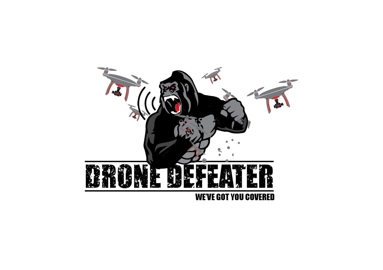 Logo Design by pojas12 - Entry No. 56 in the Logo Design Contest Artistic Logo Design for Drone Defeater.