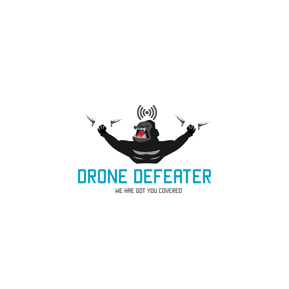 Logo Design by ALBAN KRASNIQI - Entry No. 58 in the Logo Design Contest Artistic Logo Design for Drone Defeater.