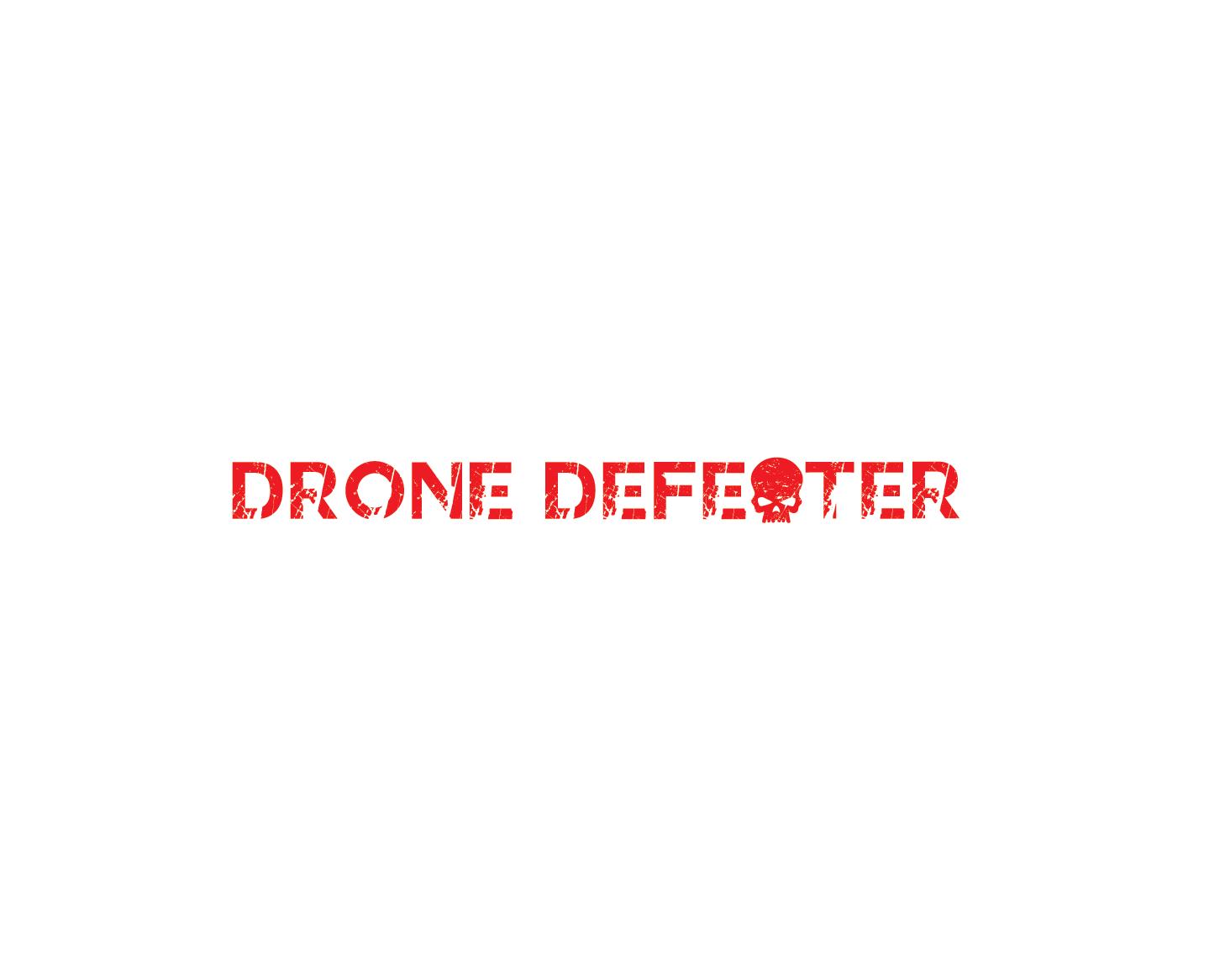 Logo Design by Rizky Adam - Entry No. 61 in the Logo Design Contest Artistic Logo Design for Drone Defeater.