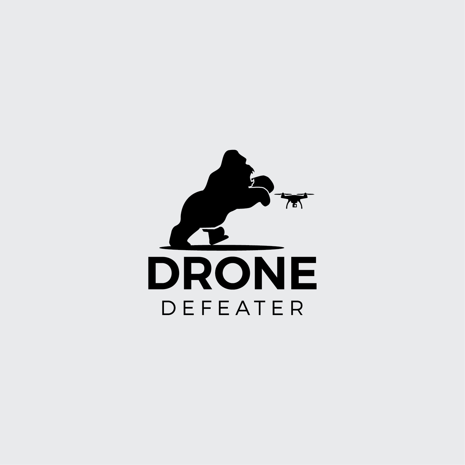 Logo Design by Rizky Adam - Entry No. 63 in the Logo Design Contest Artistic Logo Design for Drone Defeater.