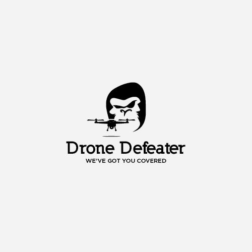 Logo Design by Rizky Adam - Entry No. 65 in the Logo Design Contest Artistic Logo Design for Drone Defeater.