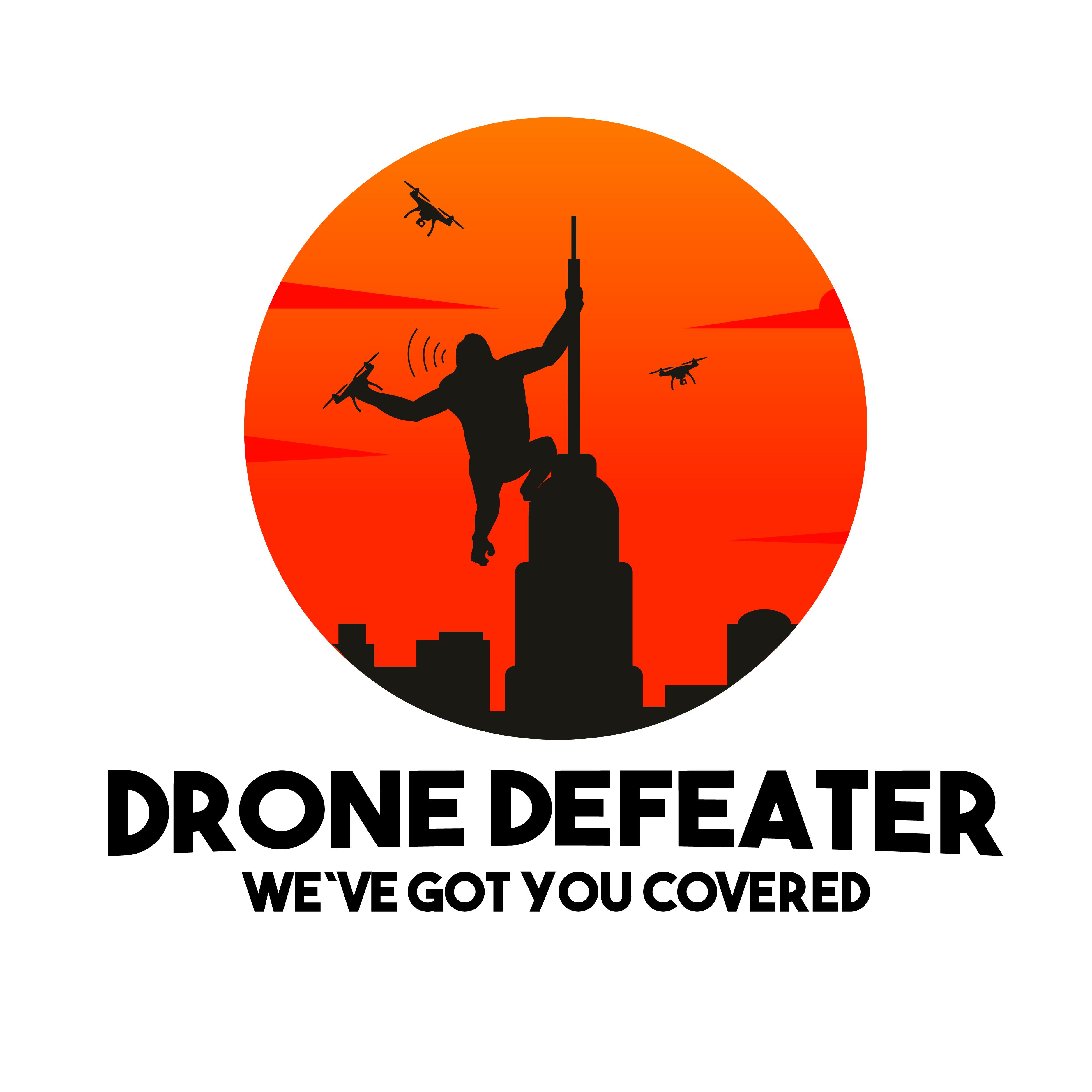 Logo Design by pojas12 - Entry No. 67 in the Logo Design Contest Artistic Logo Design for Drone Defeater.