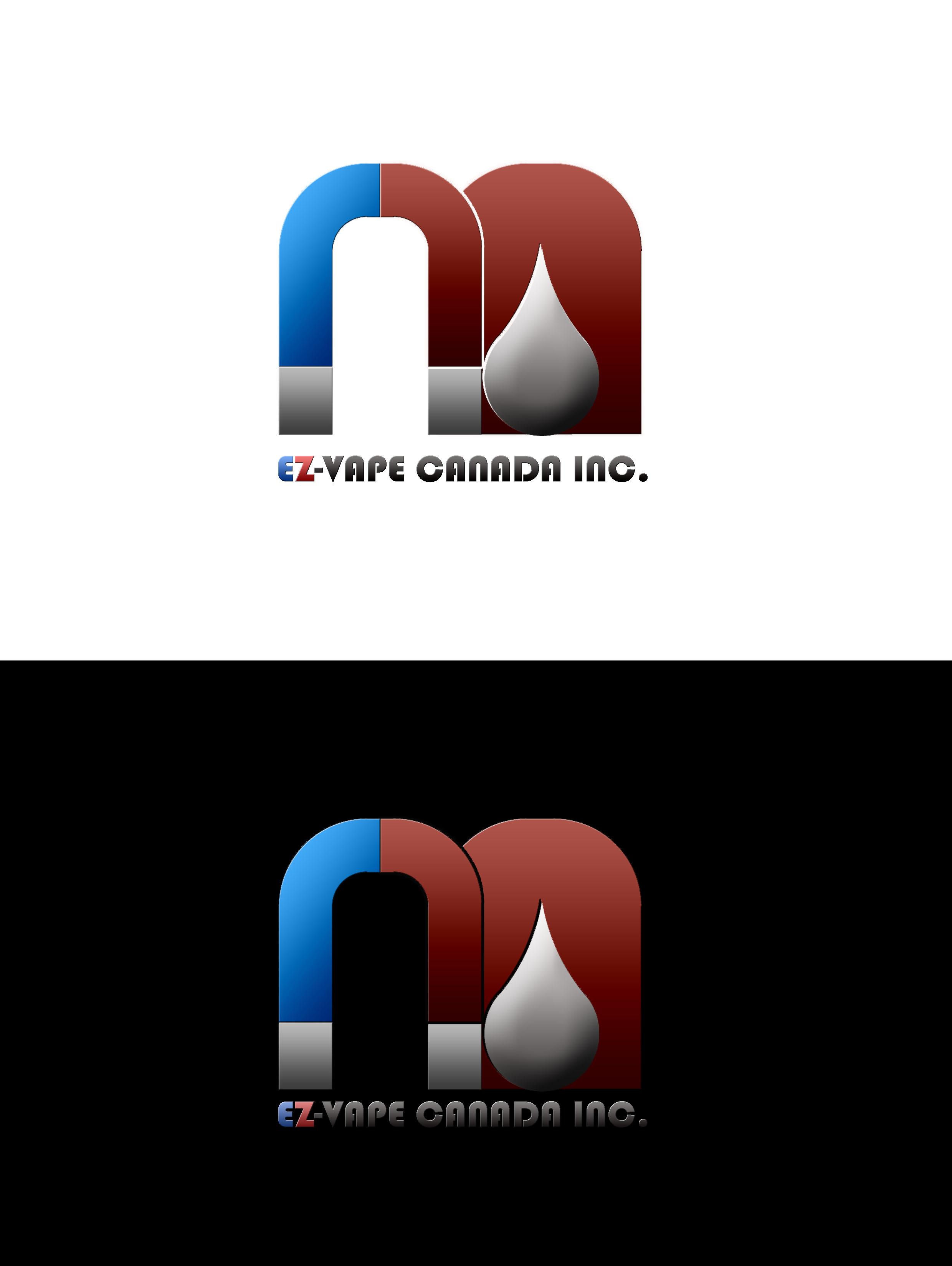 Logo Design by JSDESIGNGROUP - Entry No. 6 in the Logo Design Contest Inspiring Logo Design for EZ-Vape Canada Inc.