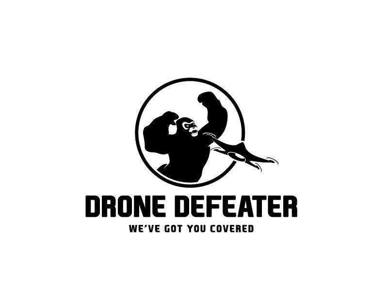 Logo Design by Private User - Entry No. 69 in the Logo Design Contest Artistic Logo Design for Drone Defeater.