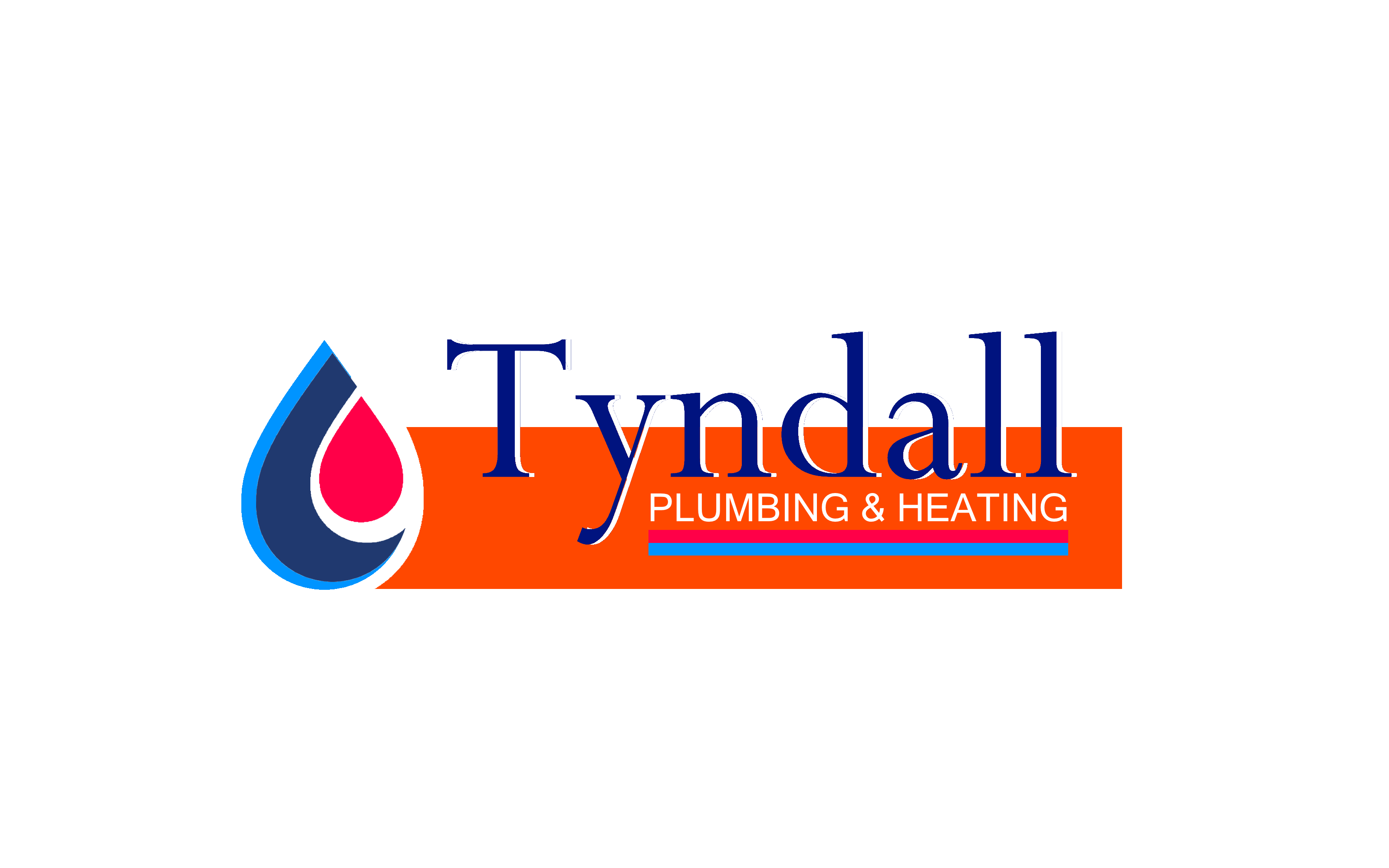Logo Design by Roberto Bassi - Entry No. 4 in the Logo Design Contest Imaginative Logo Design for Tyndall Plumbing & Heating.
