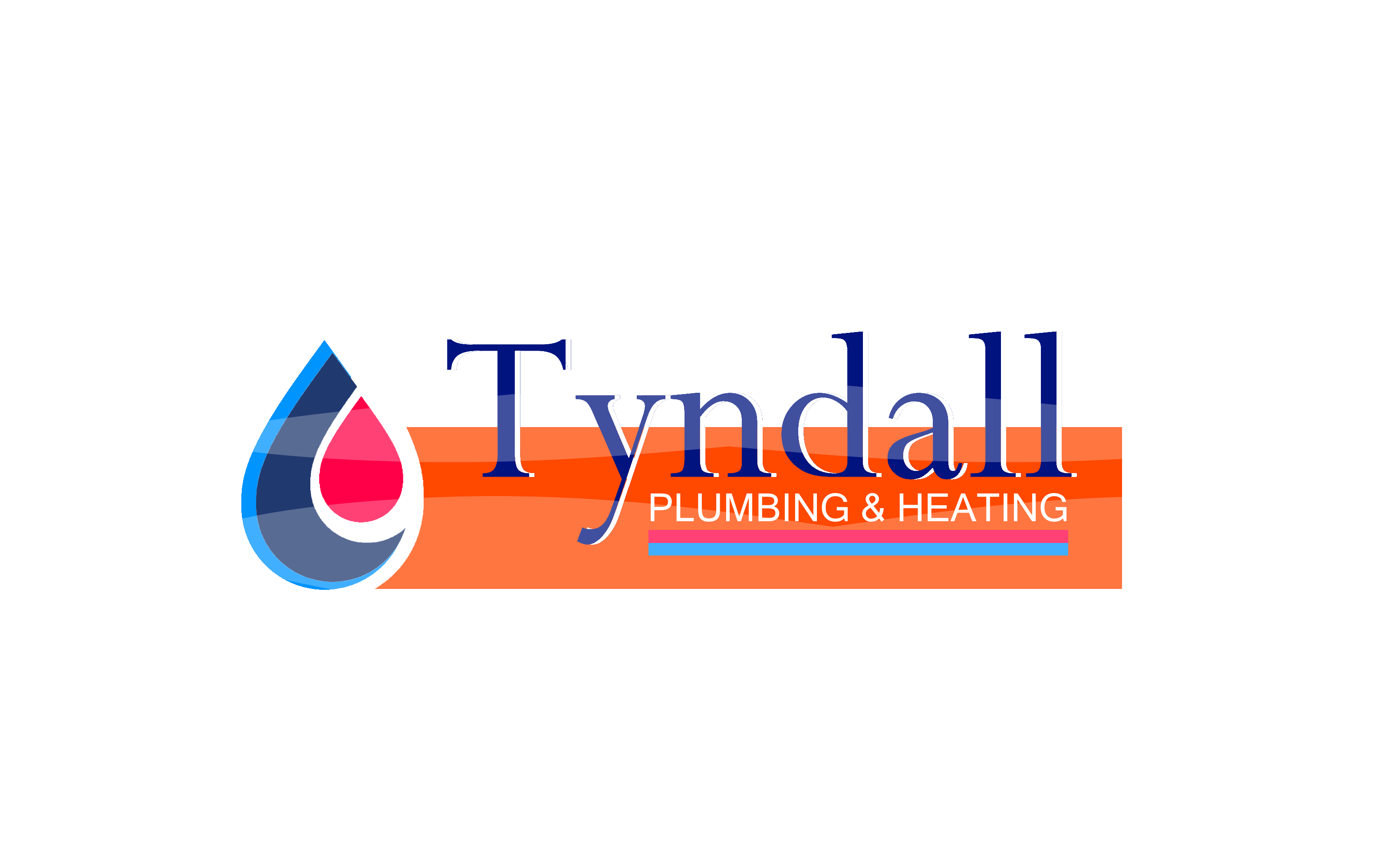 Logo Design by Roberto Bassi - Entry No. 8 in the Logo Design Contest Imaginative Logo Design for Tyndall Plumbing & Heating.
