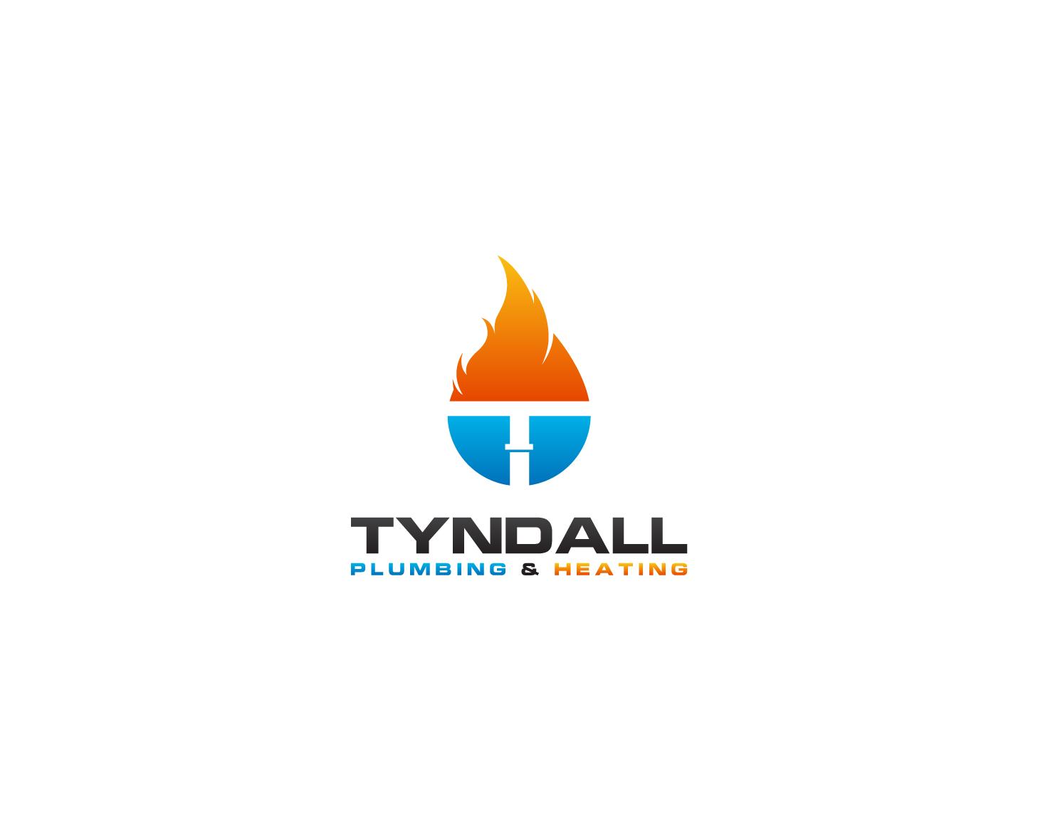 Logo Design by Shivaprasad Sangondimath - Entry No. 9 in the Logo Design Contest Imaginative Logo Design for Tyndall Plumbing & Heating.