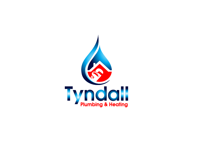 Logo Design by Private User - Entry No. 11 in the Logo Design Contest Imaginative Logo Design for Tyndall Plumbing & Heating.