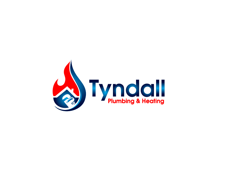 Logo Design by Private User - Entry No. 12 in the Logo Design Contest Imaginative Logo Design for Tyndall Plumbing & Heating.