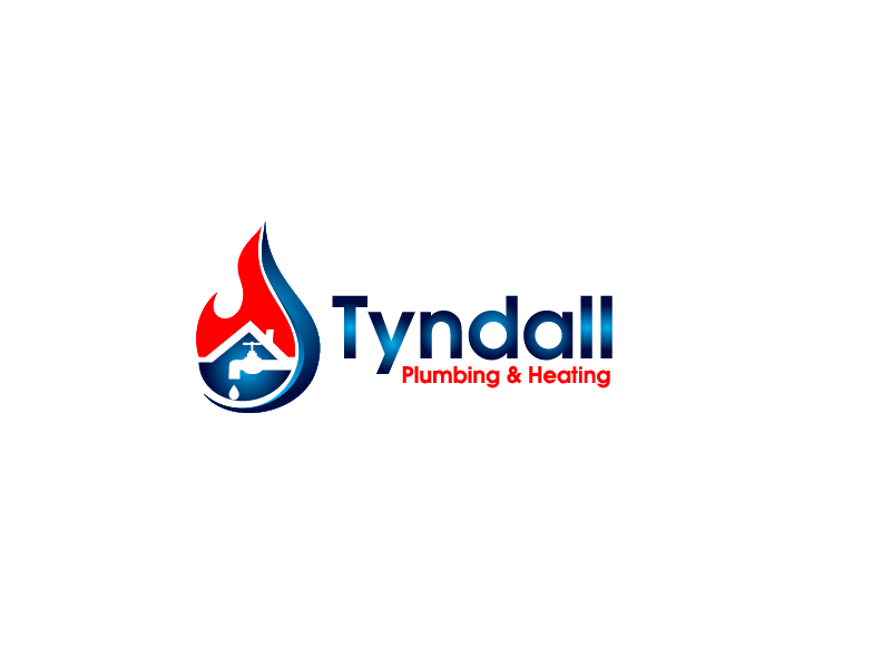 Logo Design by Private User - Entry No. 13 in the Logo Design Contest Imaginative Logo Design for Tyndall Plumbing & Heating.