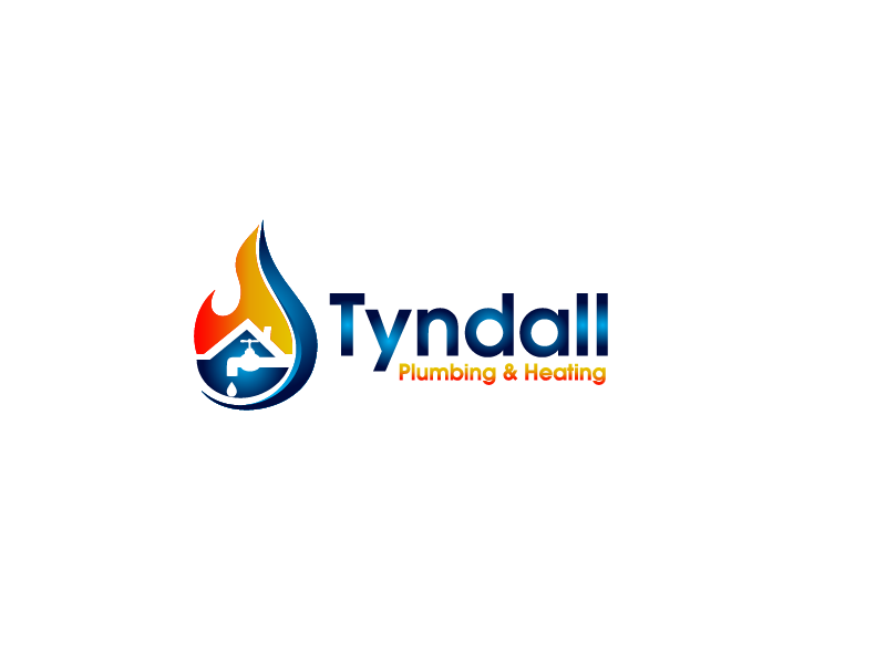 Logo Design by Private User - Entry No. 14 in the Logo Design Contest Imaginative Logo Design for Tyndall Plumbing & Heating.