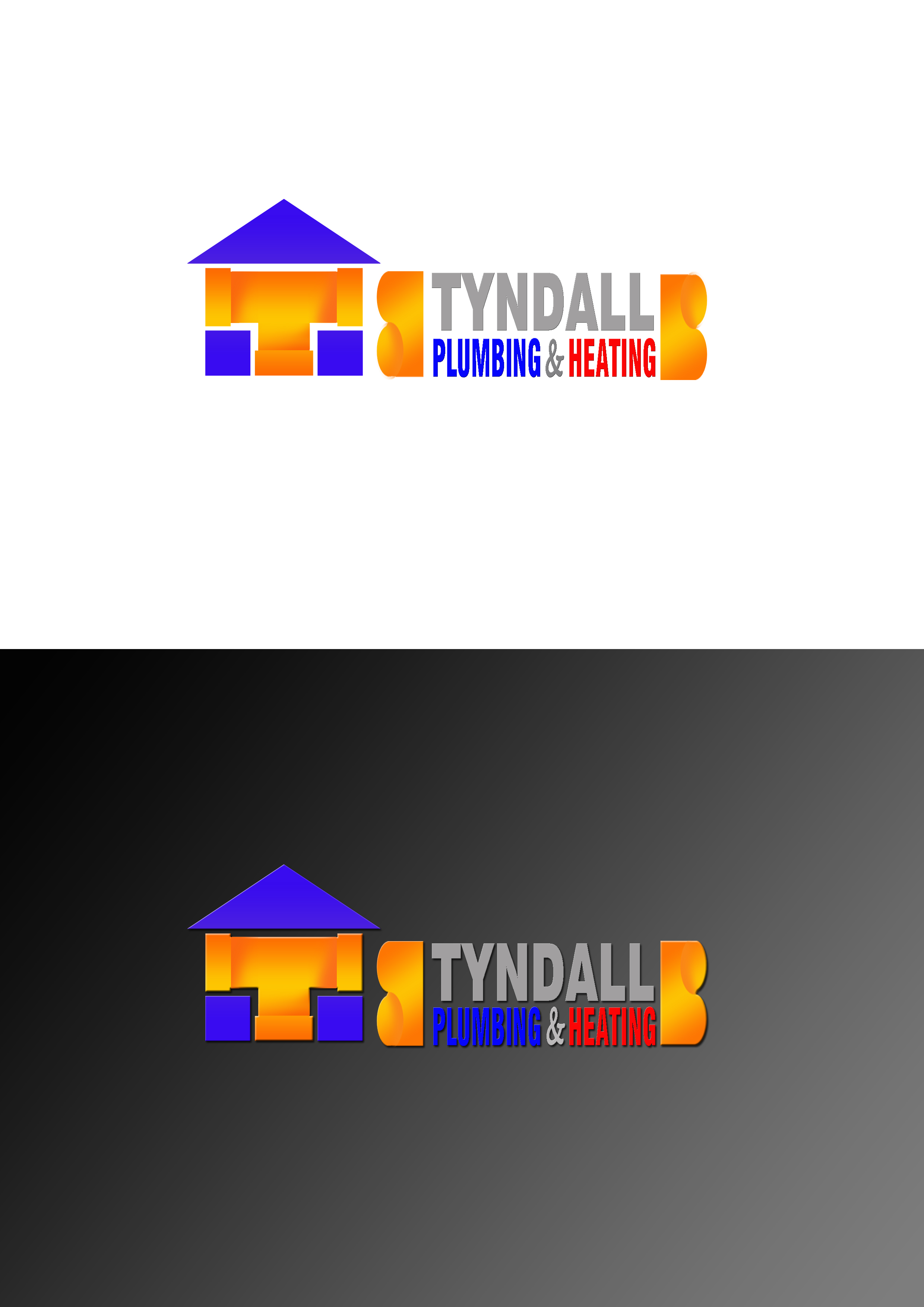 Logo Design by JSDESIGNGROUP - Entry No. 15 in the Logo Design Contest Imaginative Logo Design for Tyndall Plumbing & Heating.