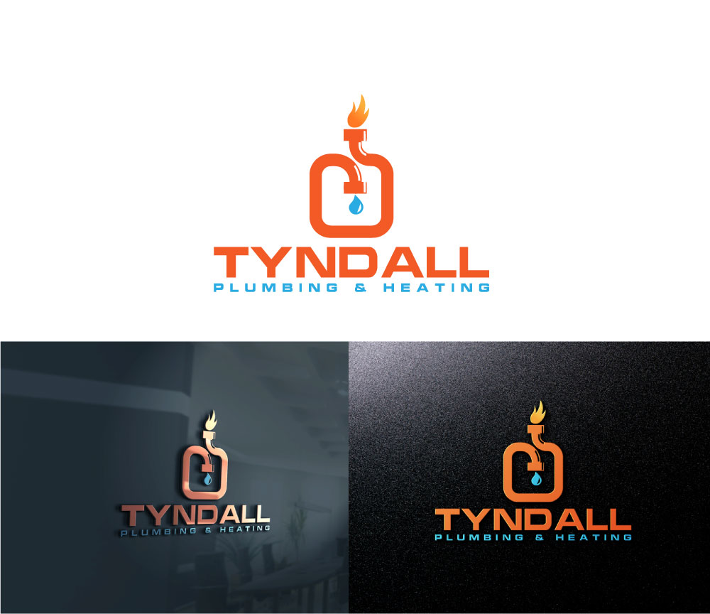 Logo Design by Private User - Entry No. 16 in the Logo Design Contest Imaginative Logo Design for Tyndall Plumbing & Heating.