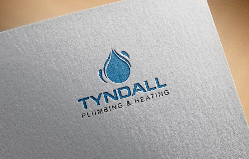 Logo Design by Private User - Entry No. 17 in the Logo Design Contest Imaginative Logo Design for Tyndall Plumbing & Heating.