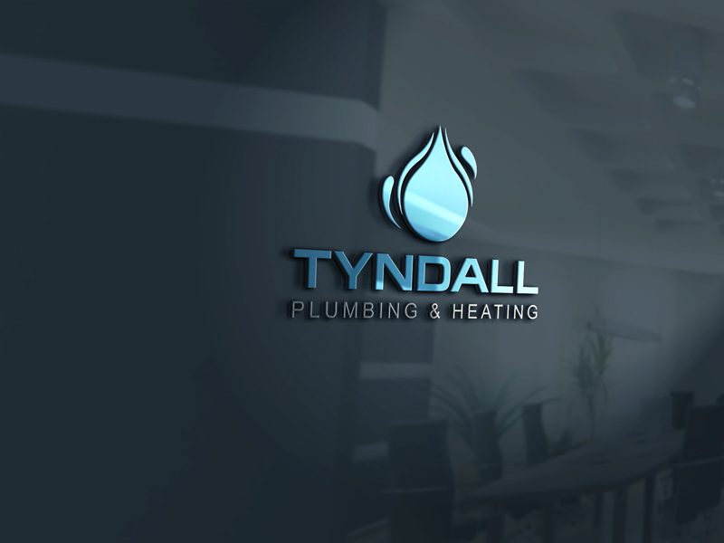 Logo Design by Private User - Entry No. 19 in the Logo Design Contest Imaginative Logo Design for Tyndall Plumbing & Heating.