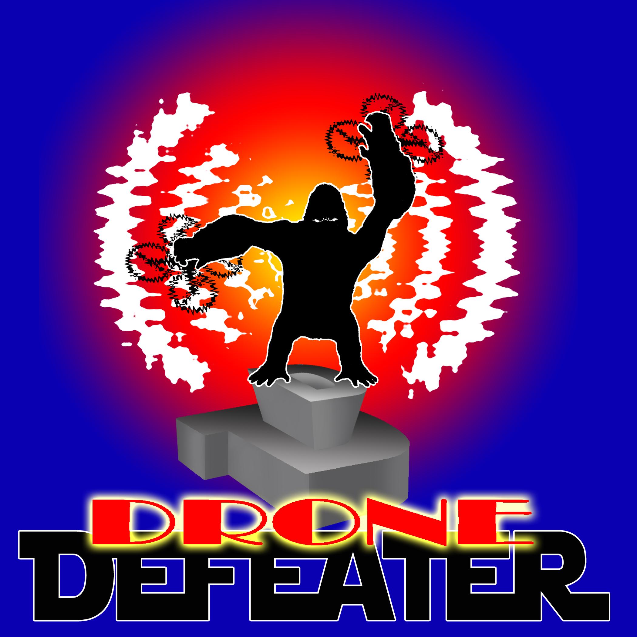 Logo Design by Kitz Malinao - Entry No. 71 in the Logo Design Contest Artistic Logo Design for Drone Defeater.