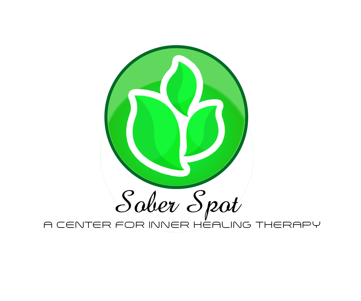 Logo Design by John Melvie Sulla - Entry No. 1 in the Logo Design Contest Unique Logo Design Wanted for Sober Spot A Center for Inner Healing Therapy.