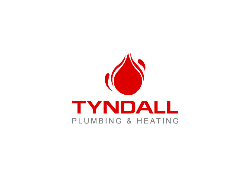 Logo Design by Private User - Entry No. 22 in the Logo Design Contest Imaginative Logo Design for Tyndall Plumbing & Heating.