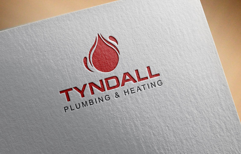 Logo Design by Private User - Entry No. 23 in the Logo Design Contest Imaginative Logo Design for Tyndall Plumbing & Heating.