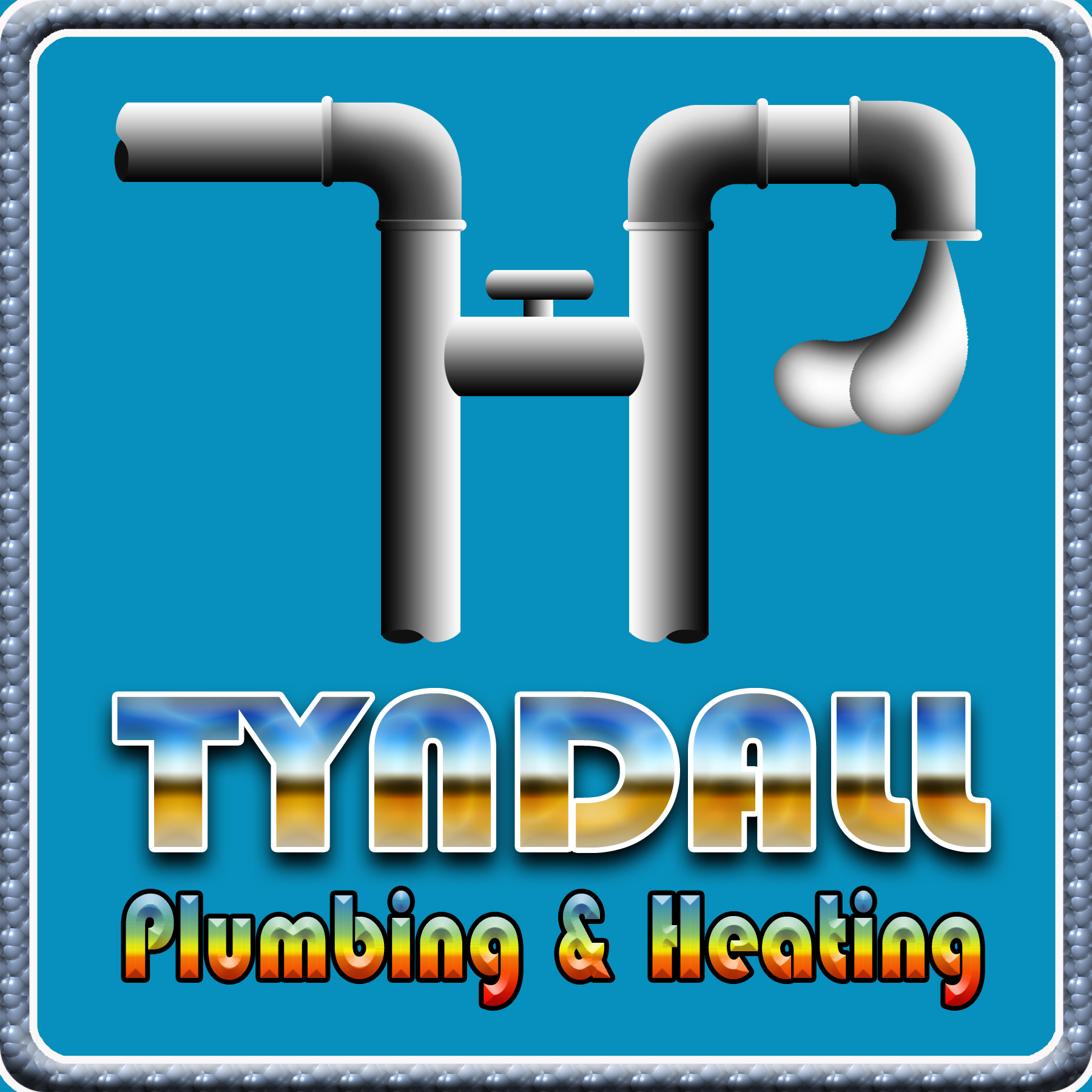 Logo Design by Kitz Malinao - Entry No. 25 in the Logo Design Contest Imaginative Logo Design for Tyndall Plumbing & Heating.