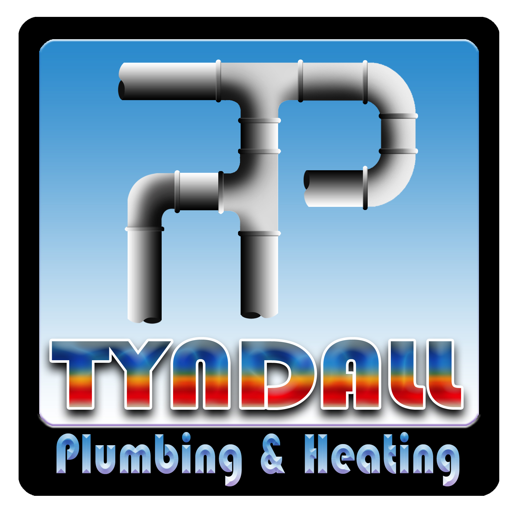 Logo Design by Kitz Malinao - Entry No. 27 in the Logo Design Contest Imaginative Logo Design for Tyndall Plumbing & Heating.