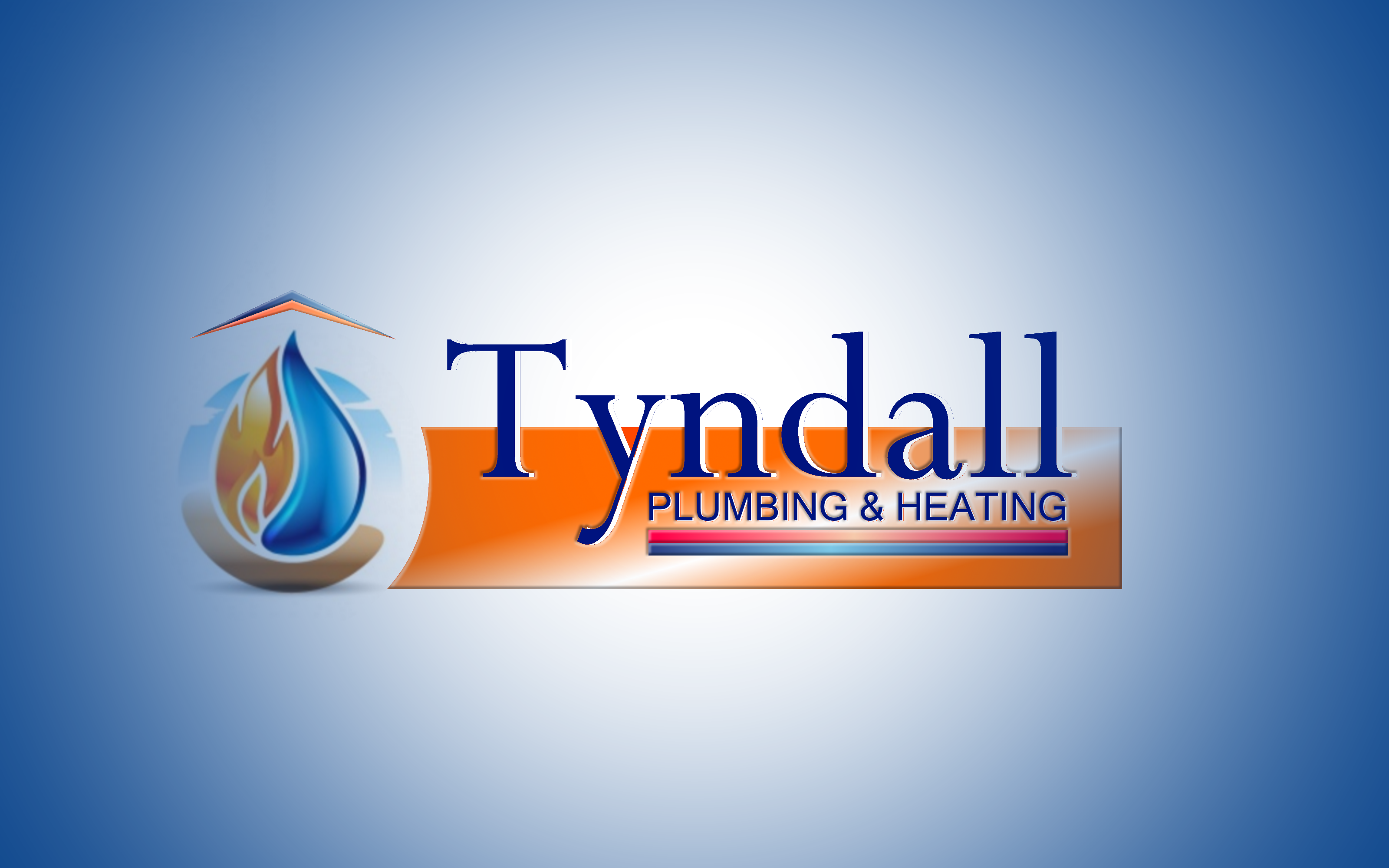 Logo Design by Roberto Bassi - Entry No. 28 in the Logo Design Contest Imaginative Logo Design for Tyndall Plumbing & Heating.