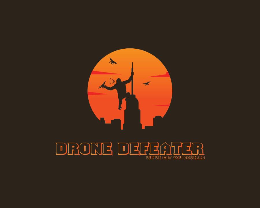 Logo Design by pojas12 - Entry No. 72 in the Logo Design Contest Artistic Logo Design for Drone Defeater.