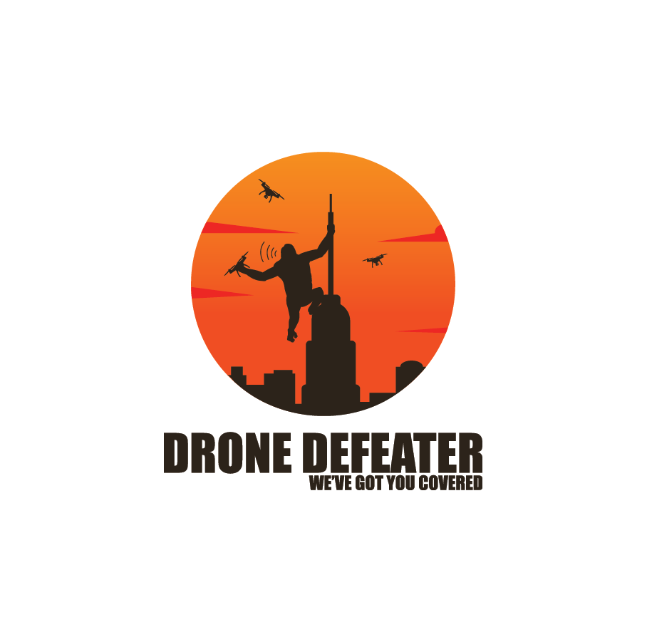 Logo Design by pojas12 - Entry No. 73 in the Logo Design Contest Artistic Logo Design for Drone Defeater.