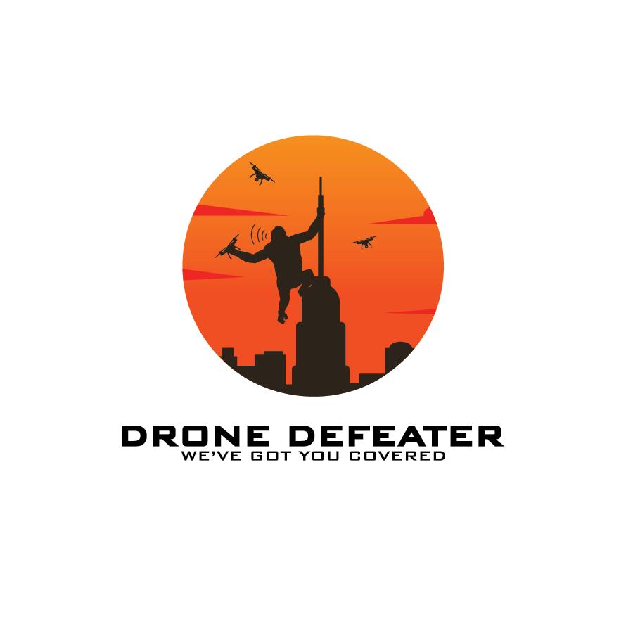Logo Design by pojas12 - Entry No. 75 in the Logo Design Contest Artistic Logo Design for Drone Defeater.
