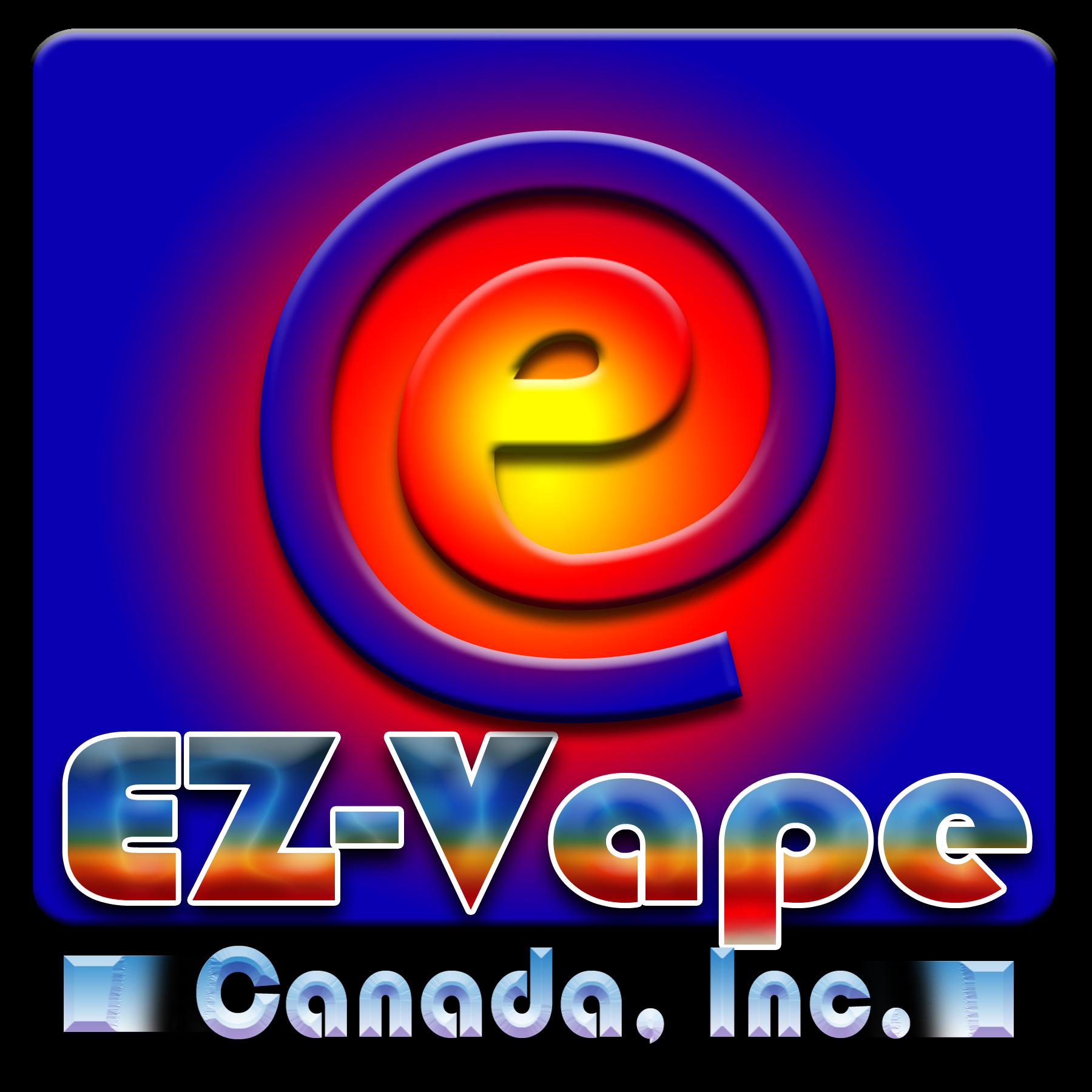 Logo Design by Kitz Malinao - Entry No. 20 in the Logo Design Contest Inspiring Logo Design for EZ-Vape Canada Inc.