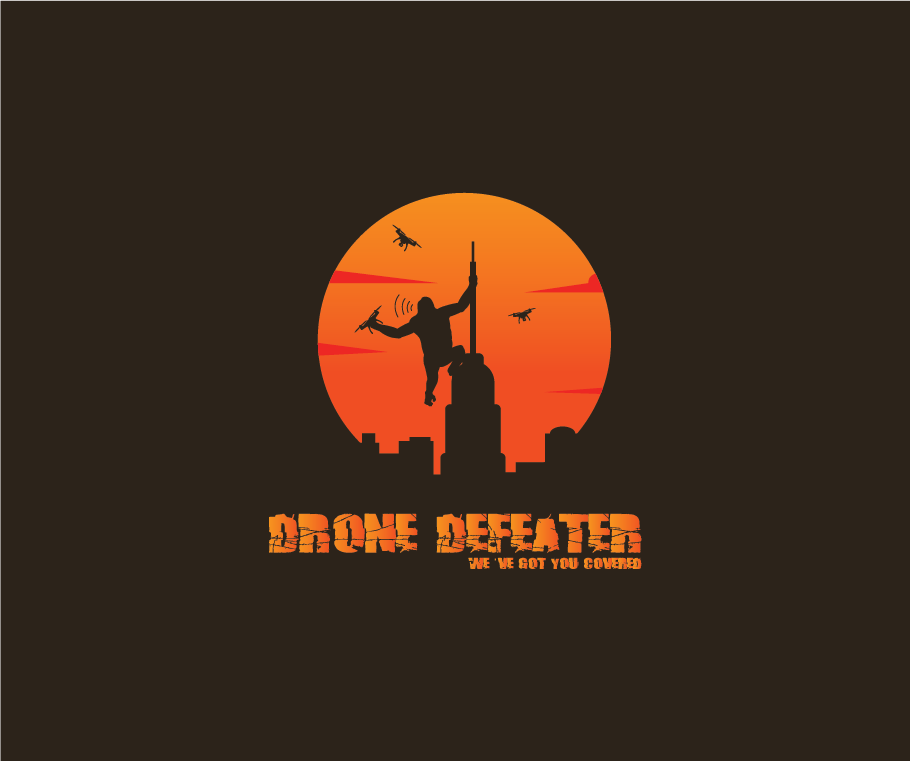 Logo Design by pojas12 - Entry No. 77 in the Logo Design Contest Artistic Logo Design for Drone Defeater.