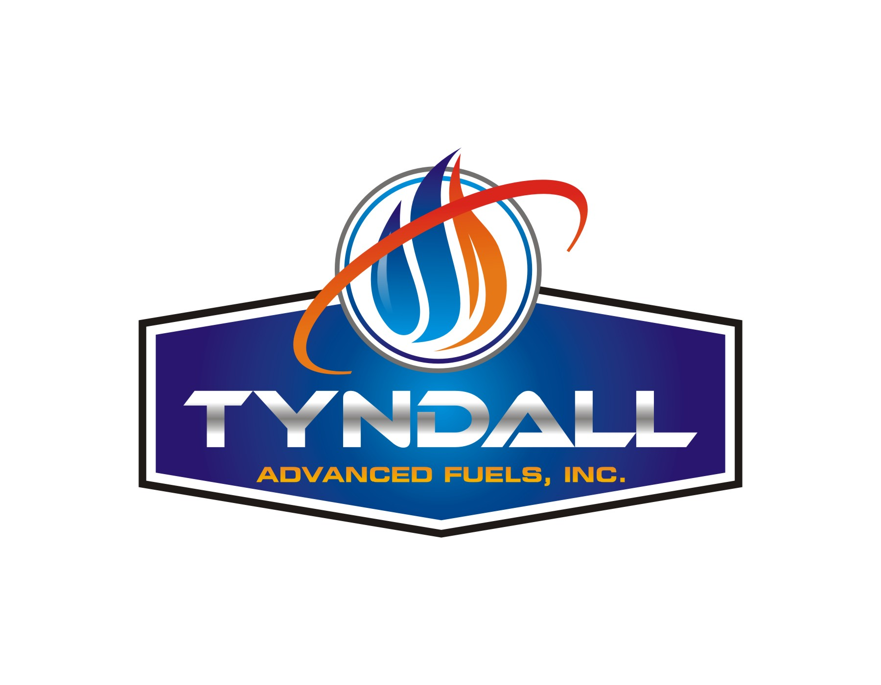 Logo Design by Spider Graphics - Entry No. 43 in the Logo Design Contest Imaginative Logo Design for Tyndall Plumbing & Heating.