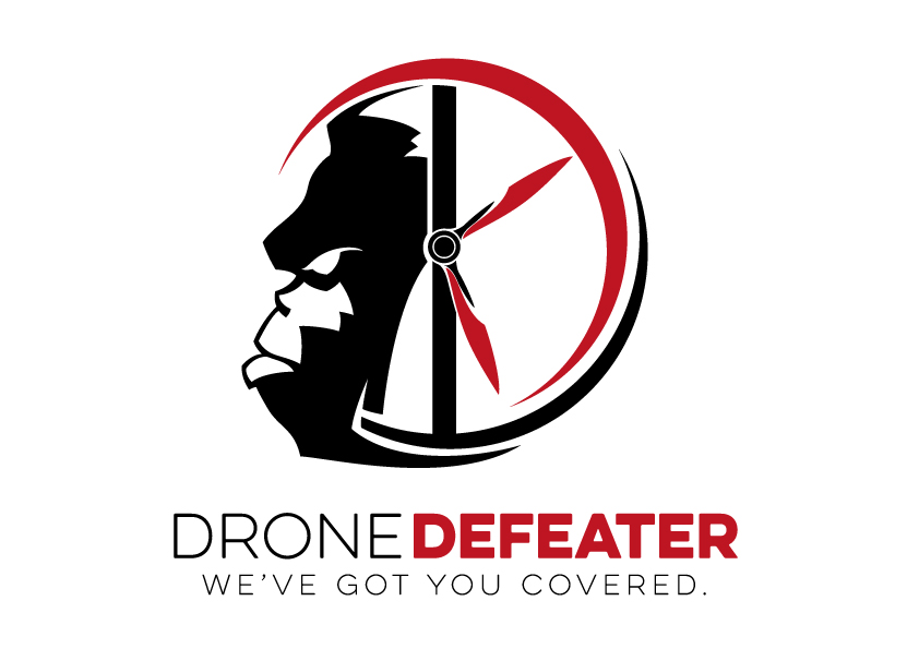 Logo Design by Joey Belardo - Entry No. 80 in the Logo Design Contest Artistic Logo Design for Drone Defeater.